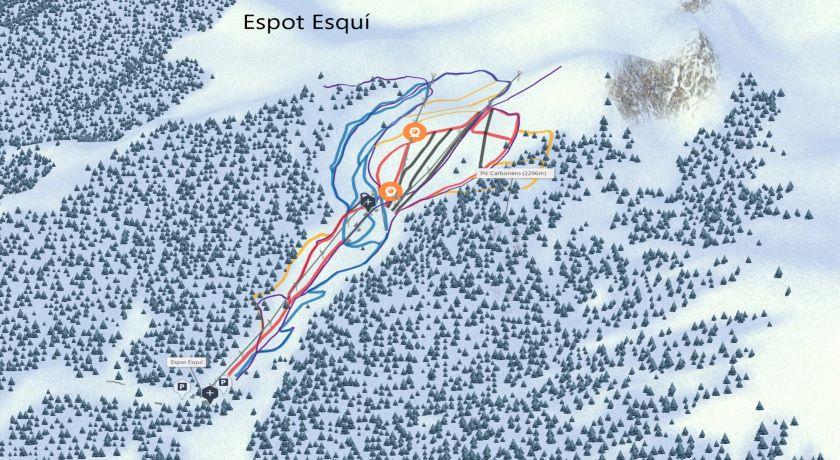 Estaciones de esquí skipallars